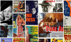 film posters collage