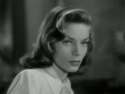Bacall face